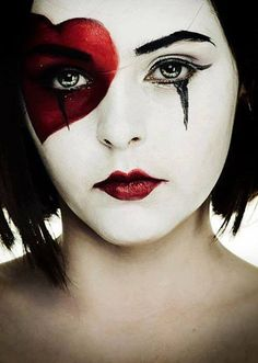 love the face paint