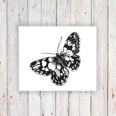 Butterfly temporary tattoo This is a cute fake that would be a great real tattoo
