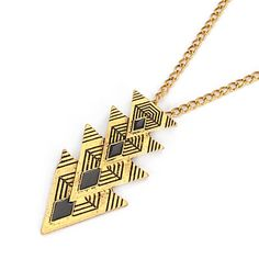 Image of Necklace Four Tri