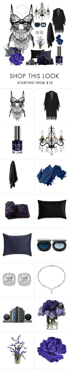 """Lingerie"" by melissa999 ❤ liked on Polyvore featuring Belle Et BonBon, Verdissima, Topshop, Home Decorators Collection, Bobbi Brown Cosmetics, Slip, Frederic Sage, John-Richard, Chanel and Natural by Lifestyle Group"