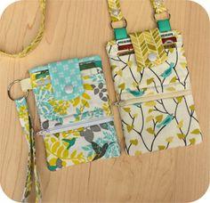 In The Hoop :: Device Cases - Phones, eReaders, Etc. :: Phone Wallet - Embroidery Garden In the Hoop Machine Embroidery Designs