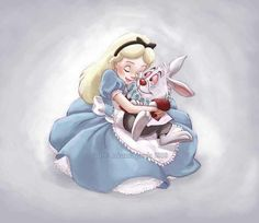 """Here's a little trivia for you. """"Alice in Wonderland"""" was written in 1865 by English author Charles Lutwidge Dodgson under the pseudonym Lewis Carroll. White Rabbit Alice In Wonderland, Alice In Wonderland Party, Adventures In Wonderland, Lewis Carroll, Disney Fan Art, Disney Love, Disney Magic, Disney Style, Disney And Dreamworks"""
