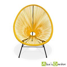 Acapulco jaune http://www.alicesgarden.fr/mobilier-jardin/chaise/huevo-fauteuil-oeuf?selected=708