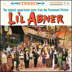 """""""Li'l Abner"""" (1959, Columbia).  Music from the movie soundtrack."""