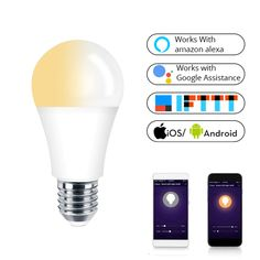 Wi-Fi Smart LED Bulb Price: $ 19.98 & FREE Shipping #teknokave #smartgadgets #technology Smart Home Control, Smart Lights, Life App, Alexa Echo, App Remote, Works With Alexa, Led Lamp, Consumer Electronics, Wifi