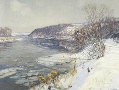 Edward Redfield landscape - Google Search