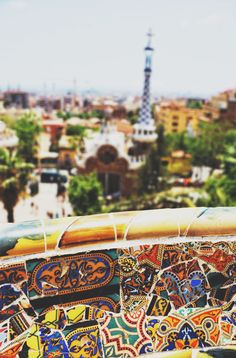 Barcelona, Spain #travel #europe Parc Guell