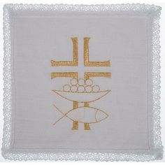 Mass linen set 4 pcs. loaves and fishes | online sales on HOLYART