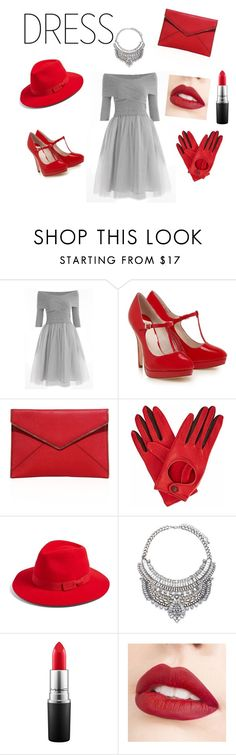 """""""Untitled #23"""" by ghena-alaina ❤ liked on Polyvore featuring Rebecca Minkoff, Gizelle Renee, Brixton, MAC Cosmetics and Jouer"""
