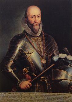 D. Alvaro de Bazán. Almirante de Carlos V y Felipe II, héroe de Lepanto, nunca en vida perdió una batalla.