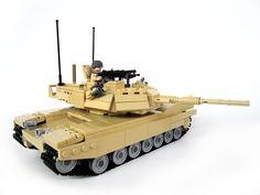 Brickmania - M1A1 Abrams Main Battle Tank (Tan), $360.00 (http://www.brickmania.com/m1a1-abrams-main-battle-tank-tan/)