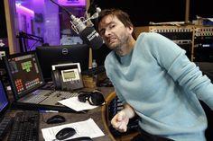 PHOTOS: David Tennant Co Hosts The Absolute Radio Breakfast Show