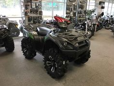 New 2017 Kawasaki Brute Force® 750 4x4i EPS ATVs For Sale in South Carolina. KAWASAKI STRONG The Kawasaki Brute Force 750® 4x4i EPS ATV is built strong to dominate the most difficult trails. Backed by over a century of Kawasaki Heavy Industries, Ltd. knowledge and engineering, the Brute Force 750 is a thrilling adventure ATV that refuses to quit. Sealed rear wet brake Rigid tubular steel frame Digital Fuel Injection (DFI®)