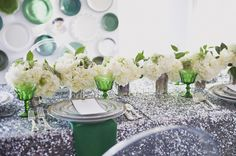 #stylemepretty for #ohsoinspired http://ruffledblog.com/modern-art-deco-wedding-ideas/