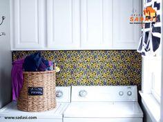 #decoracion LAS MEJORES CASAS DE MÉXICO. Si usted cuenta con cuarto de lavado en su hogar, también puede hacer varias cosas para decorarlo y hacer que luzca mejor. Una de las mejores ideas el papel tapiz, ya que es muy resistente a la humedad del lugar y podrá encontrarlo en varios diseños, así como colocarlo en todas las paredes o en ciertos espacios. Le invitamos a ser parte de la experiencia Sadasi, al comprar su hogar en nuestros desarrollos. www.sadasi.com
