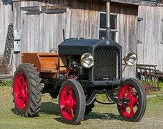 This Star doodlebug is certainly a rarity in the vintage tractor world by Robert Hartson