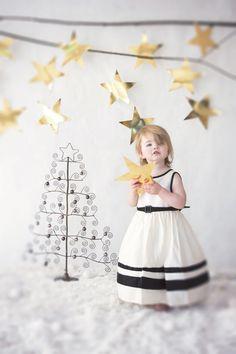 Christmas photo shoot. Winter photos. Children photography by I live in Ireland Photography