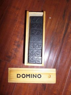 """$11.99 FREE SHIPPING Vintage Wooden Design Chinese Dominoes Set with Instructions Box """"Free Shipping"""" #games #toys #chinese #wood #set #box #deisgn #vintage #giftidea #set #play #dominoes #wooden #ebay #buy #shopping #fun"""