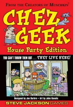 Amazon.com: Chez Geek House Party Edition: Toys & Games