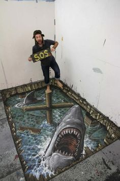 25 Realistic Street Art by 3D Joe and Max   Cuded