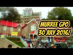 Murree GPO 30 july 2016!  Murree is Pakistan's most popular hill station. Murree lies 50 kilometers northeast of Pakistani capital Islamabad at a comfortable altitude of 7500 feet (2286 meters) in the Himalayan foothills at 33.35°  north latitude and 73.27°  east longitude.  Murree Sanitarium (US sanatorium), as it was initially known, was selected because of its cool climate to serve as recuperation area for British troops and was one of the several such hill stations established in the…