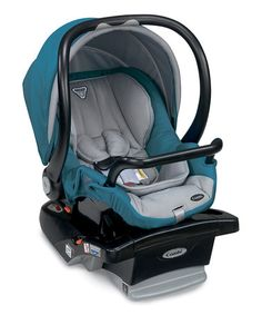 Loving this Teal Shuttle Car Seat on #zulily! #zulilyfinds