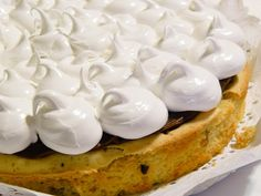 Torta Brownie de Chocolate Blanco <3