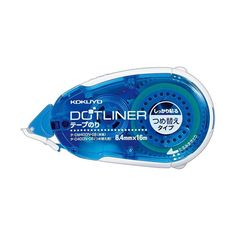 Kokuyo's Dotliner is the next generation adhesive. Compared to the conventional liquid glue which contains hazardous chemicals such as PVA and cyanoacrylate, t