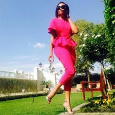 Look Bonang Matheba All Fashion, Passion For Fashion, Spring Fashion, Love Magazine, Black Actresses, Corporate Style, Dress For Success, Celebs, Celebrities