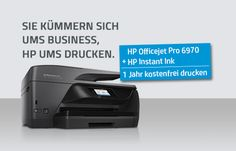 All-in-One Drucker HP OfficeJet Pro 6970 im Test - Jetzt entdecken: Das 4-in-1-Multifunktionstalent HP OfficeJet Pro 6970 überzeugt mit vielen Highlights. Erfahren Sie hier alle Details zum Drucker und wie Sie für 1 Jahr kostenlos drucken können!