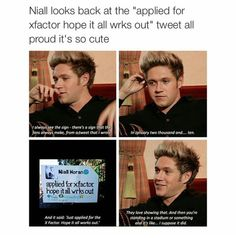 wow niall thanks for stomping on my heart ! kidding i love you ......you lil irish cutie