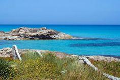 Es caló de Sant Agustí. Formentera