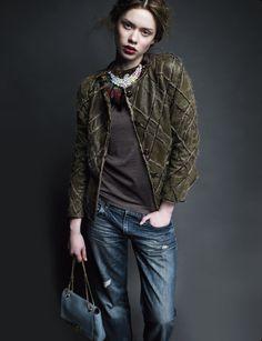 Lien Vieira by Mário Príncipe for Vogue Portugal July 2013 2 love the jacket!