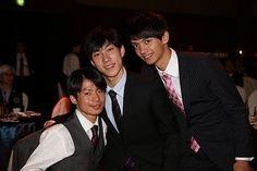 Tatsuki Machida,Keiji Tanaka and Ryuju Hino(JAPAN)