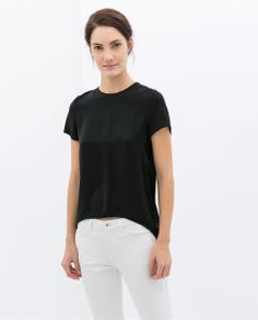 ZARA - WOMAN - TOP WITH OPENING AT THE BACK