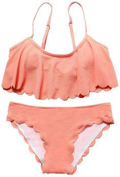 Septangle Damen Bikini Rock Wassersport Bikini Hose Mit Tasche