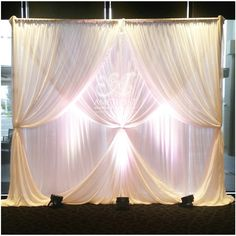 Wedding Backdrop Reception Head Table Draping Ideas For 2019 Wedding Ceremony Ideas, Wedding Reception Lighting, Wedding Table, Reception Decorations, Wedding Backdrops, Event Lighting, Decor Wedding, Table Decorations, Wedding Receptions
