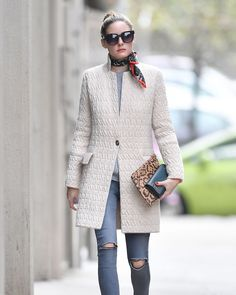 Un piumino elegante che sembra un cappotto? Lo ha indossato Olivia Palermo che ci svela il capospalla leggero perfetto per quest'autunno - ELLE.it