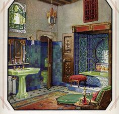 Moroccan bath, Crane Plumbing Co, Chicago, 1928 photo DESK--Magnaverde--MoroccanbathCrane.jpg