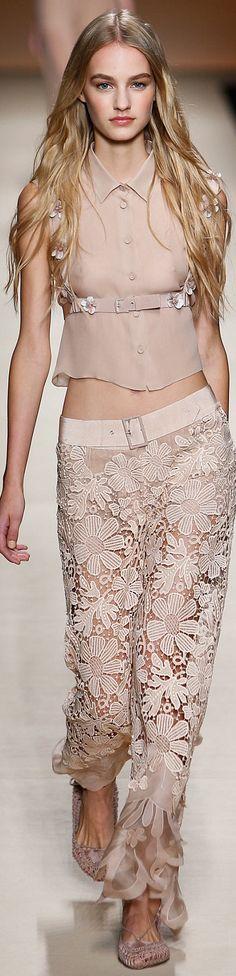 Alberta Ferretti women fashion outfit clothing style apparel @roressclothes closet ideas
