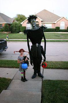 Los americanos nos llevan mucha ventaja en Halloween.