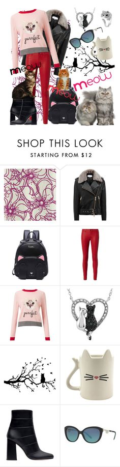 """""""Puddy-Tats!"""" by april-wilson-nolen ❤ liked on Polyvore featuring Reiss, L'Agence, Miss Selfridge, Zara, Tiffany & Co. and Effy Jewelry"""