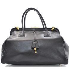 prada bags prices uk - prada handbags - black leather wallet by prada. http://tinyurl.com ...