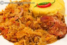 Romanian Food, Cabbage Recipes, Crockpot, Recipies, Favorite Recipes, Meat, Chicken, Vegetables, Cooking