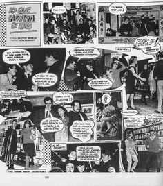 """Fotonovela """"Lo que La Mafia se llevó"""". Fotos: Héctor García. Textos: Walt Disney. Revista """"Siempre!"""" Septiembre de 1965"""