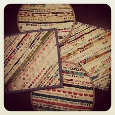 potholders from selvage strips