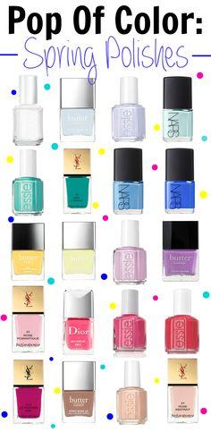 105 Best Nail Polish Color Swatches Images Nail Paint Shades Nail