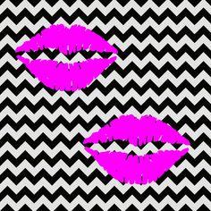 imagem-para-quadrinho-fundo-zig-zag-preto-e-branco-bocas-rosa-beijo-blog-dikas-e-diy.jpg (840×840)