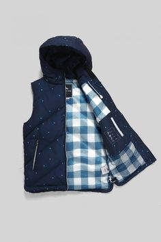 Huffer Womans Classic Down Vest - Pixel Dot Down Vest, Professional Outfits, My Wardrobe, Style Guides, Baby Car Seats, Style Inspiration, Dress Sewing, My Style, Classic
