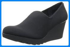 Donald J Pliner Women's Maddy Wedge Pump,Black Crepe M US. Wedge Pump, Black Pumps, Partner, Wedges, Best Deals, Womens Fashion, Shopping, Shoes, Link